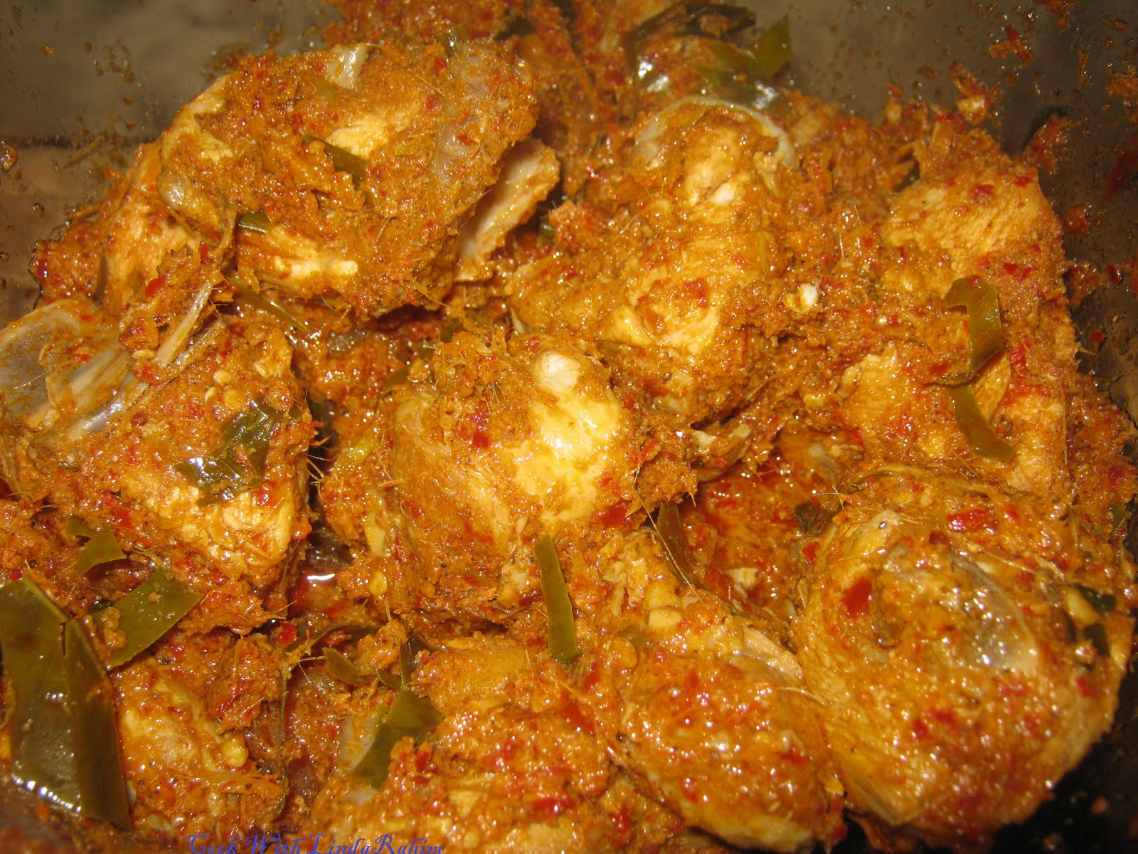 Resep rendang ayam resep resep masakan kreatif