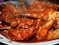 Resep Kepiting asam manis pedas
