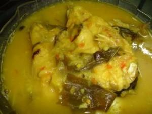 Gulai ikan patin tempoyak