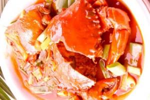 kepiting asam manis pedas 2