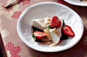Resep Puding Kelapa Muda Strawberry