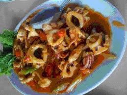 Resep cumi saus Padang