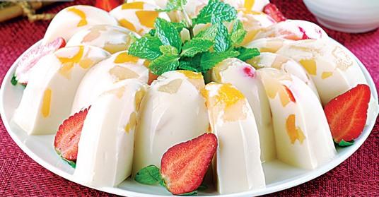 Resep puding susu isi buah - 2019 - Resep Masakan Kue Minuman Terbaru