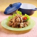 resep masakan dari  ayam - resep ayam cah rebung