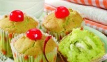 Resep cara membuat dan bahan bahan Kue pandan kelapa muda