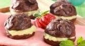 Resep Cara membuat Kue Sus Coklat Durian enak lembut