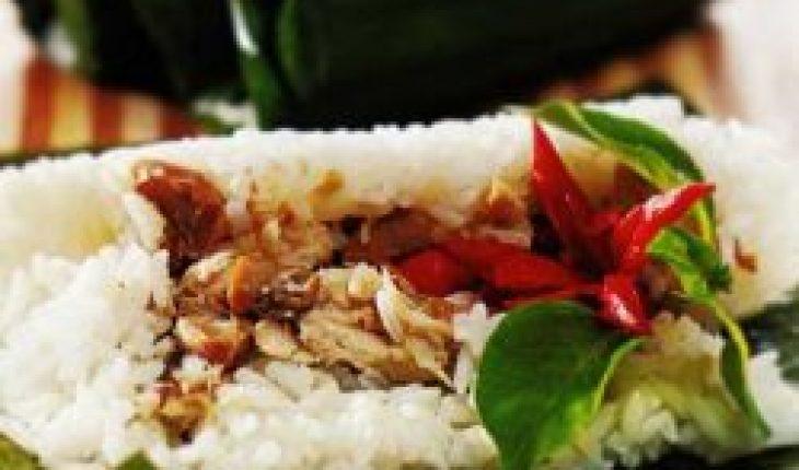 Resep Nasi bakar Ayam
