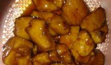 resep-singkong-karamel-saus-santan