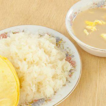 resep es duo ketan durian   resep masakan kue minuman terbaru