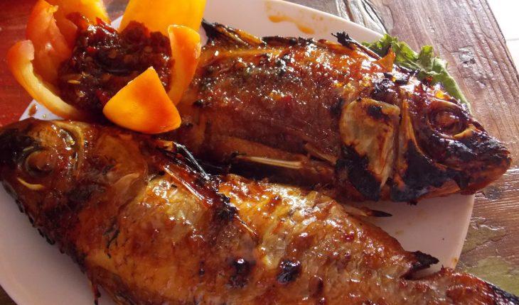 Resep ikan kakap bakar