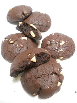 Resep Nutty Brownie Cookies