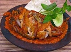 Resep Ayam Penyet Sambal Kemangi