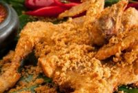 Ayam Goreng Kremes Sangrai Kelapa