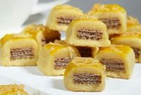 Resep Cara membuat Wafer Cookies