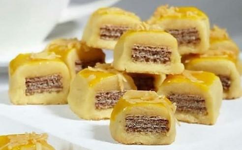 Resep Cara membuat Wafer Cookies