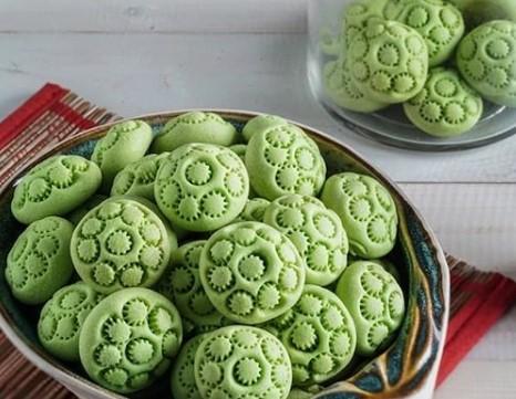 Resep Kue KeringTurtle Shell Cookies